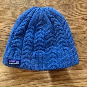Patagonia Wool Knit Hat w/ fleece New w/out Tags